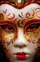 Venetian mask by Bazouu