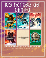 Los Heroes del Olimpo || PDF by iMissNothing