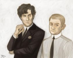 Sherlock VS Leyendecker by kafers
