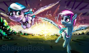 Sisters Friends Whatevers by sharpieboss