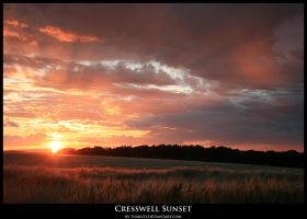 Cresswell Sunset by tumilty