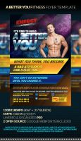 A BETTER YOU Fitness Flyer Template by anekdamian