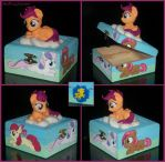Cutie Mark Crusaders Keepsake Box - UPDATED by MadPonyScientist