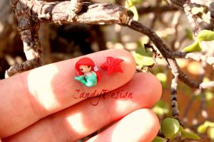 Ariel studs earrings by CandyDesign
