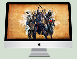 Assassins Creed III - Wallpaper by Crussong