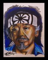 Mr Miyagi-Karate Kid by ArtofMicahOrtega