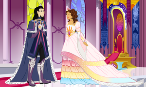 King and Queen of Equestria (Human Version) by AlexKingOfTheDamned