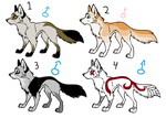 Adoptables 4 ..:CLOSE:.. by Nichuss