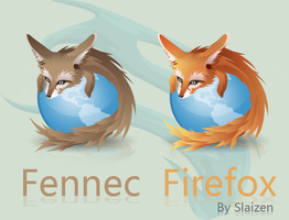 Fennec Firefox Icon by Slaizen