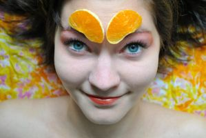 tangerine I by GreenDrop