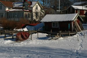 Vaxholm Port by tifrize
