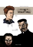 VIOLEnt HILL - characters study 2 by LazarusClortho
