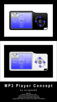 MP3 Player Concept by enigma06