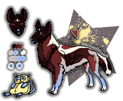 Tervuren Dog or Mix adopt - REDUCED PRICE - OPEN! by Esaki