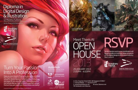 Digital Design and Illustration diploma program by kunkka