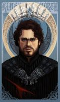 The King in the North - Game of Thrones by YoungGirlBlues