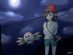 [Pokemon S/M] The Girl and Her Companion by MCMania332