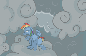 Cloudy Dash by PonyGoggles