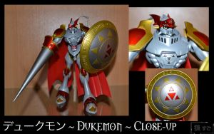 Figure 50 - Dukemon (Close Up) by Oukami-SuGo