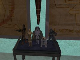 Star Wars Galaxies Museum - Action Figures by JGrayDingler