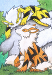 One Shiny Arcanine by jeazard