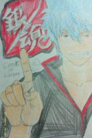 Gintama become Number 1 by Bluedragoncartoon