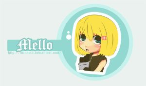 Mello Chibi. DN Individual by ChabeEscalant