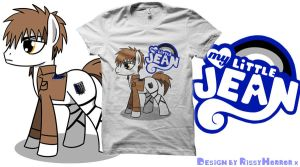 'My Little Jean' Shirt up for voting!!!! by RissyHorrorx