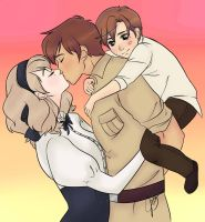 APH: *-:Tomato Family:-* Amour, Amor, Amore~ by KIMKIM14