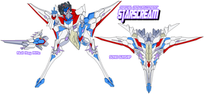 Decepticon Lady Starscream by Tyrranux