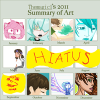 2011 art summary by colorwonders