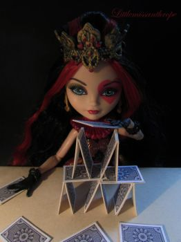 House of cards by littlemissanthrope