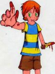 Blood blood ehhhehe by Mother3-Claus