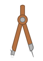 Vector - Drafting Compass by MisterAibo