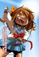 Haruhi Poster by FischHead