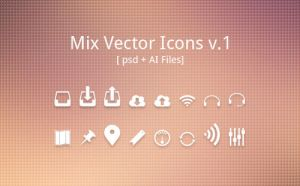 Mix Vectir Icons Vol.1 by wasimshahzad