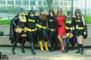 Batgirls! by stitchesandsongbirds