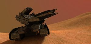 MBT Q-N2 Dune Tank 4th Gen by MrJumpManV4
