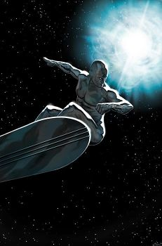 The Silver Surfer-The Arrival by carstenbiernat