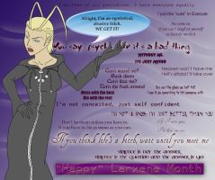 Happy Larxene Month by Siezure-in-a-Bag