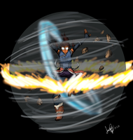 Avatar Korra Quick Drawing by FullHimitsu