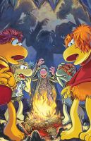 Spooky Fraggle Stories by lazesummerstone