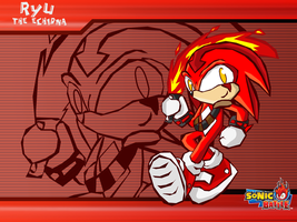 :gift: WP Ryu sonic battle by Ferni21