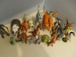 Animals of Farthing wood Hornby figures Complete 2 by redwolf18blue