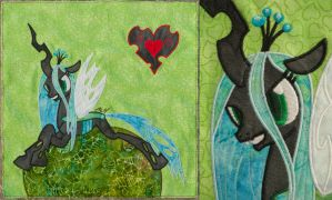 Queen Chrysalis Quilt Square by adamlhumphreys