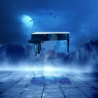 The Piano by MBHenriksen