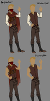 Gondar Clothing Variations. (More RP stuff ._. ) by 11IceDragon11