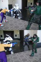 The Liger Party vs Halo by ShadowFox777
