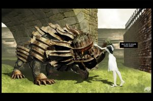 yorda and the colossus 01 by trilobo
