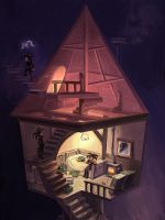 Starry's house by starryjohn